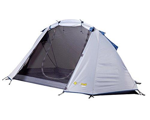 Oztrail nomad1 Tente de Tente extraligera pour deux personnes 230 x 105 cm 1.75 kg 1 m de hauteur compacte et légère dtc-nom1-e