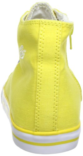 Alto Amarela Lico Meninas Voar Branco 180259 Sapatilha amarelo wXqS5gcqrW