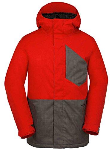 Volcom Herren Snowboardjacke Retrospect Jacket Charcoal, L Burton Mens System Jacket