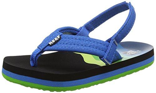 Reef Jungen AHI Sandalen, Mehrfarbig (Aqua/Blue Abl), 31/32 EU -