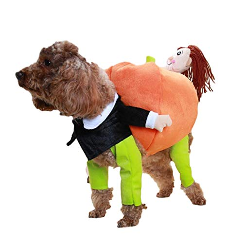 Komisch Männliche Kostüm - Wikibird Hunde Tragen Kürbis Kostüm Piratenkostüm Komische Kleidung Katze Haustier Hundekostüm Cute Coat Welpen
