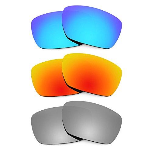 Revant Ersatzlinsen für Oakley Tincan Polarisiert 3 Paar Kombipack K014