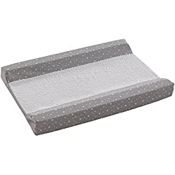 Belino Stars - Cambiador para cómoda y bañera de tejidos, color gris