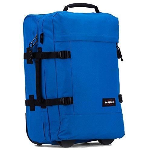 Eastpak Authentic Collection Tranverz S Double-Deck 2-Rollen Reisetasche 50 cm shuffled daisy Blue Dale
