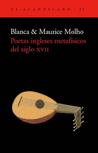 Poetas Ingleses Metafisicos de Siglo XVII