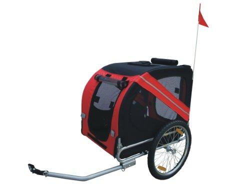 Grande avec Caisses de transport pet Roue pivotante pour poussette et remorque vélo pour chien et chat facile à Transport Robuste