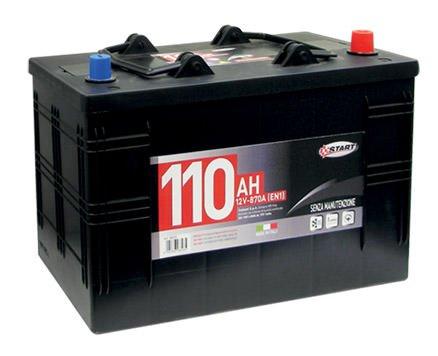 Start Batteria Auto 110AH 870A 12V