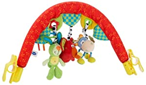 Playgro 0102273 - Arco de Juguetes de Viaje para bebé