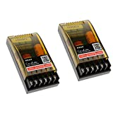 KESOTO 2pcs Regolabile Alti/Bassi Divisore Frequenza Audio a 2 Vie Crossover Filtro Altoparlante Subwoofer