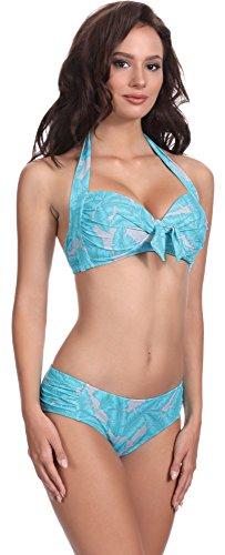 Feba Damen Push Up Bikini F20 Muster-411