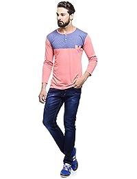 MakeOver Denim Blue Cotton Slim Fit Jeans For Men