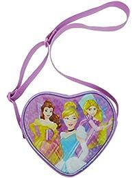 Disney Princess Cross Body Bag Porte-monnaie, 18 cm, Rose (Pink)