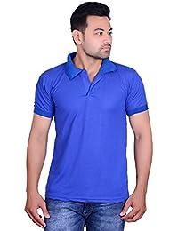 Men's Polo Royal Blue T Shirt