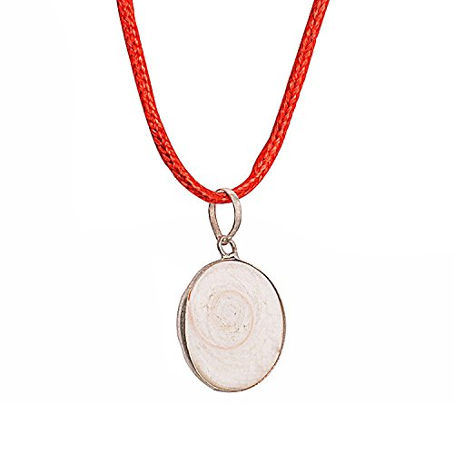 Malabar Gems Gomti Chakra Locket in Alloy