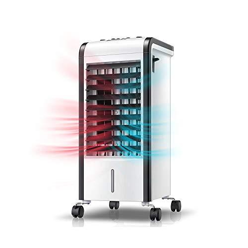 XIAOYAN 3 in 1 Klimaanlage Heizlüfter Luftbefeuchter, Kleiner Kühler für Schlafzimmer Wohnzimmer Büro Supermarkt - 3 Lüftergeschwindigkeiten