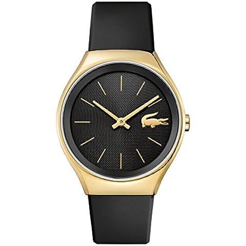 Reloj mujer–Lacoste–Valencia–Correa Silicona Negro–38mm -2000967