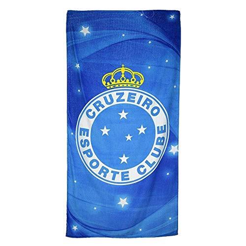 GHEDPO Strandtücher Handtücher Cruzeiro Esporte 07 Licensed Brazilian Soccer Team, Velour Beach Towel 31 x 51 Inch