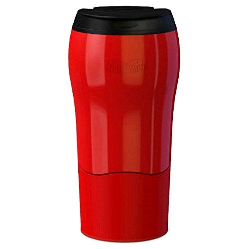 Mighty Mug MM1899 Solo Thermos Acier Inoxydable Rouge 8 x 8 x 16 cm 320 ML