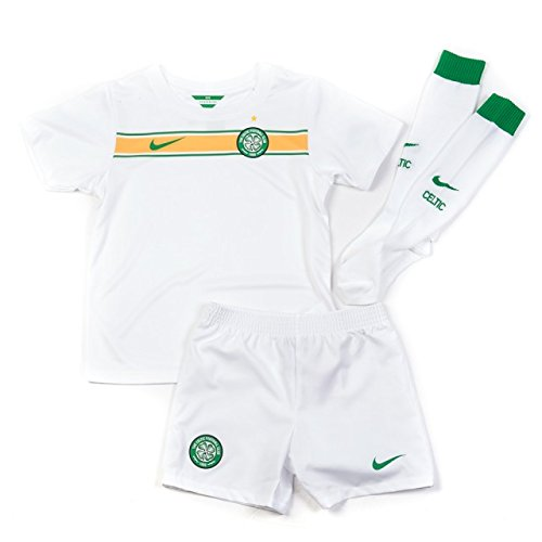 Original Celtic Glasgow Away Trikot-Hose/Shorts-Socken Set 2015 NIKE Gr.122-128 7/8 Jahre NEU