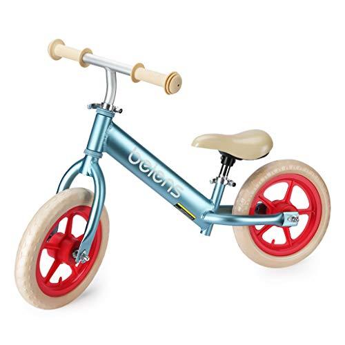 TCBIKE 12'' Sport Balance Fahrrad, Kinderlaufrad Kinder Walker Kleinkind Fahrrad Kein Pedal Babys erster Geburtstag Fahrrad Im Alter von 18 Monaten bis 5 Jahren-A