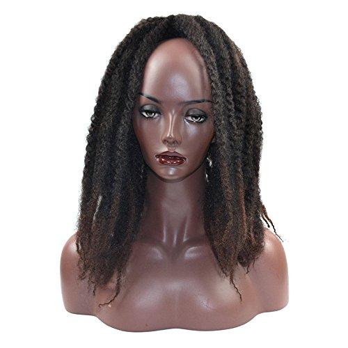 Bluestercool Frauen Mädchen Farbverlauf Curl Häkeln Zöpfe Perücken Synthetisches ()