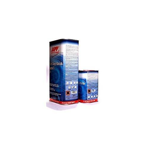 Preisvergleich Produktbild APP 2K HS Acryl Klarlack Spezial S (KRATZFEST) 5 Liter + 2,5 liter Härter (normal) 020110N
