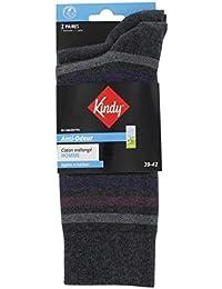Chaussettes anti-odeur vendues par lot de 2 de paires rayures + unies