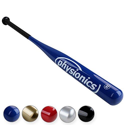 Physionics - Batte de baseball - bleu - légère - pour sportifs amateurs - coloris au choix
