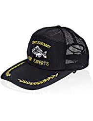 NOGA extérieur de pêche Hat Sun Hat casquette de baseball Visière Chapeau Noir