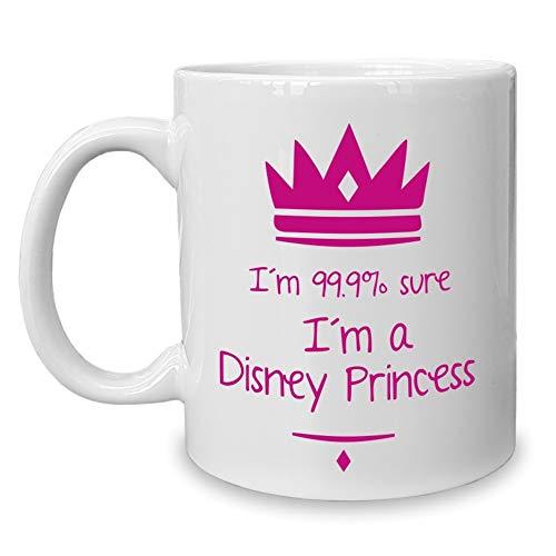 Shirtdepartment - Kaffeebecher - Tasse - lustige Sprüche Disney ()