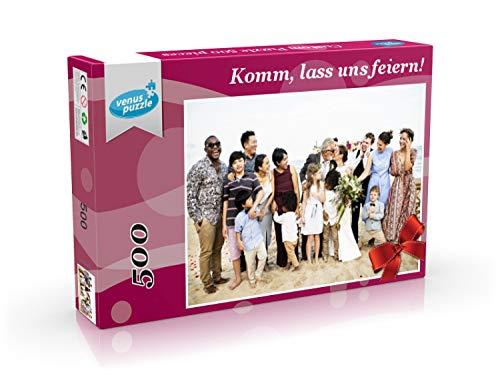 Personalisiertes Fotopuzzle 500 Teile, Personalisiertes Puzzle mit Ihrem eigenen Bild, benutzerdefiniertes Foto-Puzzle, Puzzle mit eigenem Foto - Puzzle Foto