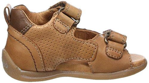 Froddo - Froddo Sandal G2150064, Scarpine primi passi Bimbo 0-24 Marrone (Cognac)