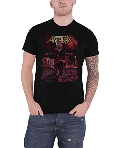 Anthrax T Shirt Bloody Eagle World Tour 2018 Band Logo Nue offiziell Herren -