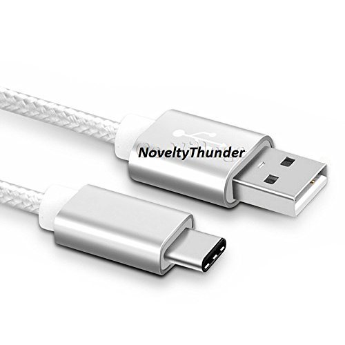 noveltythunderr-metal-strong-fabric-braided-usb-charging-charger-cable-type-c-usb-c-31-for-smartphon