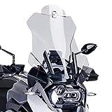Spoiler-Aufsatz Yamaha YZF-R 125 Puig Clip-On klar