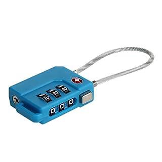 TSA Zahlenschloss Vorhängeschloss 2 Pack Sicherheit Diebstahlsicherung Vorhängeschloss Gepäckschlösser Für Koffer Trolley, Tasche Gym Sports Locker, Toolbox von Alxcio
