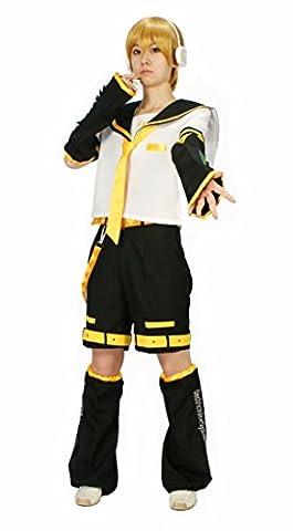 VOCALOID Cosplay Costume Vocaloid Kagamine Len M size (japan import)