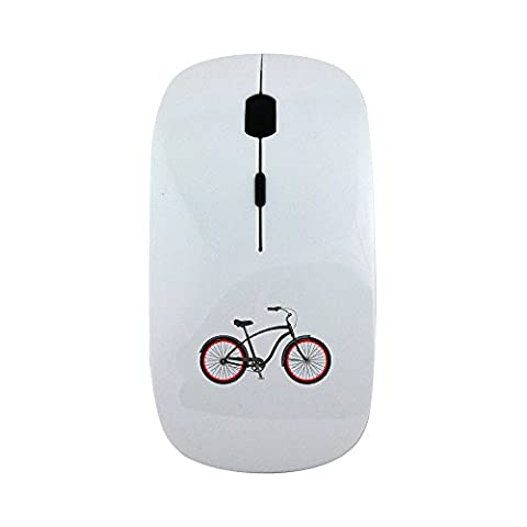 Wireless mouse with Beach Cruiser