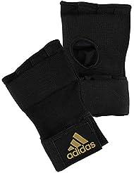 adidas Sous-gants Super Noir Noir/jaune Large