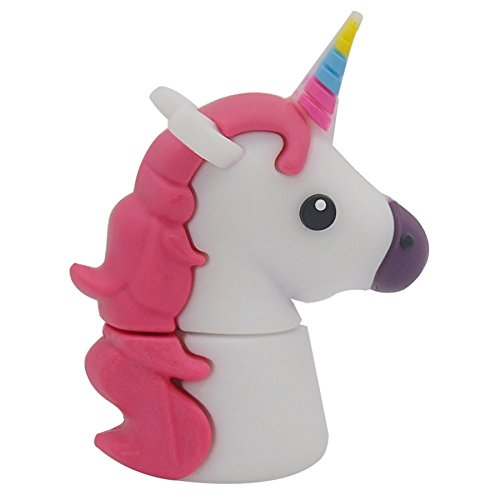 818-shop no17300010008 usb pendrive (32 gb) favoloso animale bianco unicorno