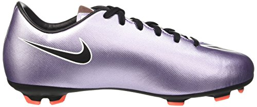 Nike Mercurial Victory V Fg, Chaussures de Football Compétition Mixte Enfant, UK Violet - Purple (Urban Lilac/Black/Bright Mango/White)