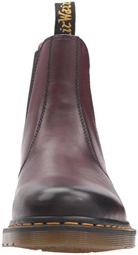 Dr. Martens 2976, Stivali Chelsea Unisex – Adulto, Blue Rosso ciliegia