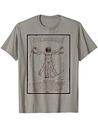 El hombre de Vitruvio de Leonardo da Vinci Original Camiseta