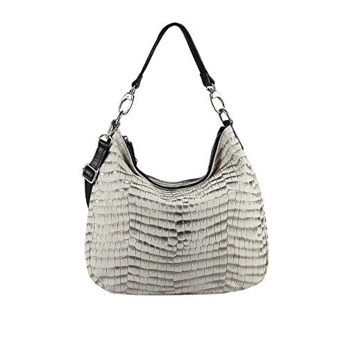 OBC Only-Beautiful-Couture, Borsa tote donna beige Beige 43x35x15 cm ca.: 43x35x15 cm (BxHxT) Beige-oro