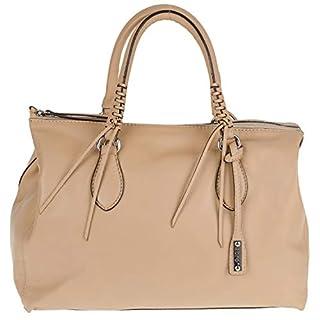 abro+ Velvet 025573-55 Handtasche Leder Nappa 36x23x16cm sahara
