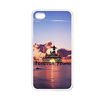 Tyboo For Child For Apple Iphone 4/4S Plastic Have Forever Young Anti-Knock Phone Shells