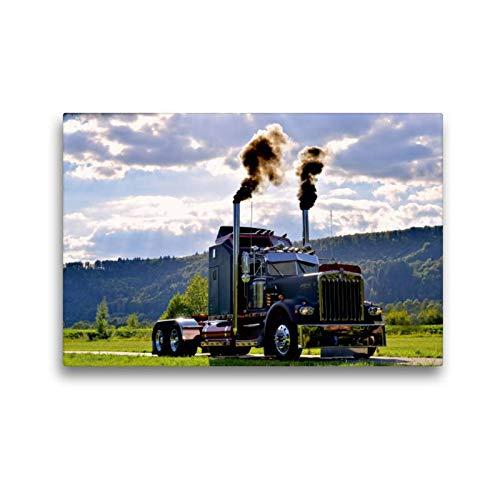 CALVENDO Ingo Laue Mobilitaet - Tela in Tessuto 45 x 30 cm, Formato Orizzontale Kenworth W900A EXTHD