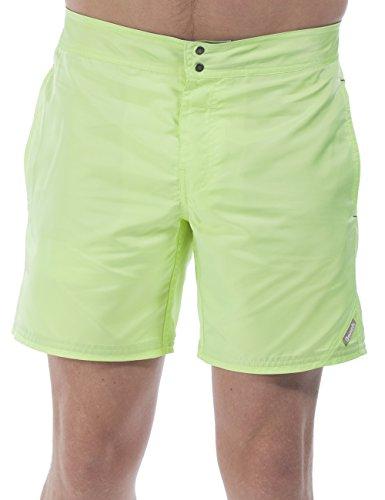Bench Herren Badeshorts BIGANDBOLD, Gr. Large (Herstellergröße: 32), Gelb (Fluoro Lime YW105)