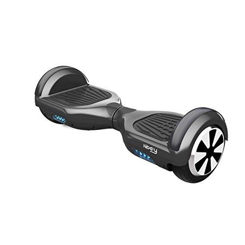 Hiboy TW01-0006 Hoverboard en Negro, SIN BLUETOOTH