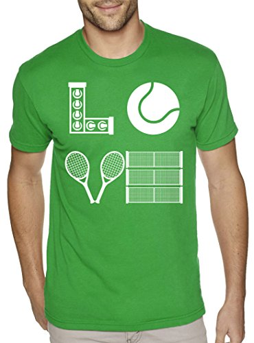 Love Tennis Badminton Sports Game Player Hobby Birthday Christmas T Shirt